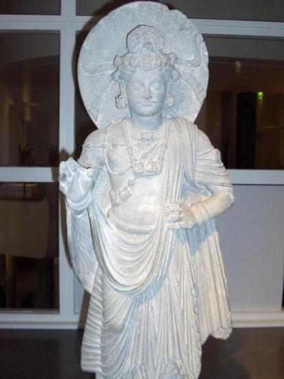 Bodhisattva debout (Gandhara, I-IIIe s.)