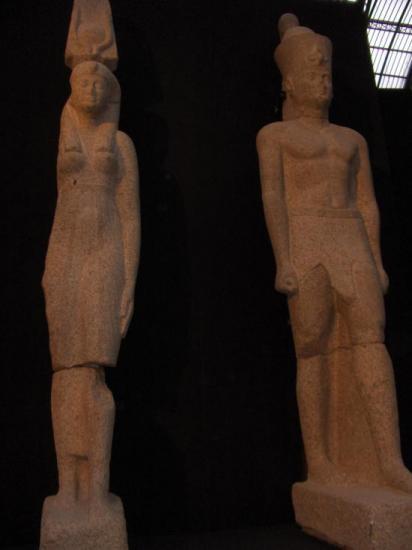 Roi et reine ptolémaïques